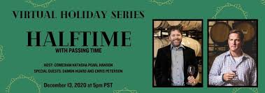 WineBid Virtual Series Part 3: Halftime with Passing Time