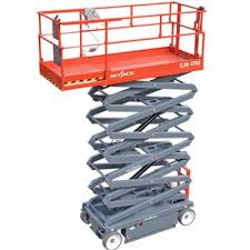 skyjack electric scissor lifts rt rt platform s skyjack sj 4740