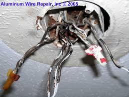 replacement of all s and switches to co alr type aluminum wire repair inc