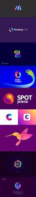 Skillshare Logo Design Fundamentals Simple And Solid Brand Marks 50 Stunning Examples Of 3d Gradient Logo Designs Logos