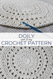 Easy Doily Pattern Simple Decorating Ideas