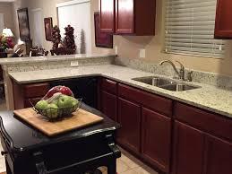 branco dallas granite countertops in kitchen with undermount