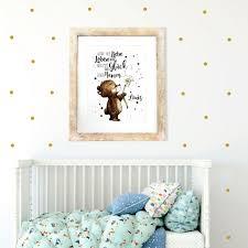A3 Print Poster Mit Baby Bär Spruch Wenn Aus Liebe Leben Wird