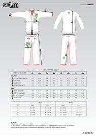 Venum Women S Gi Size Chart 47 Unexpected Fuji Kimono Size Chart