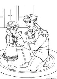 Free Frozen D500 Coloring Pages Printable