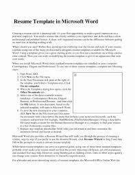 Microsoft Resume Templates 2013 Great Resume Templates For Microsoft Word Template Myenvoc 81
