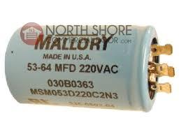 garage door capacitorLiftMaster 30B363 Capacitor for 12  13 HP Openers