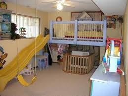 loft with slide. from the craftster community: indoor play loft with 8 foot slide! - home sweet   home: playroom ideas pinterest play, lofts and plays slide