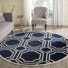 navy blue outdoor rug new rugs 5 feet round of navy blue outdoor rug new