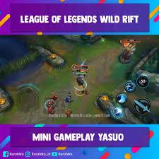 Mini Gameplay Yasuo League of Legends ...