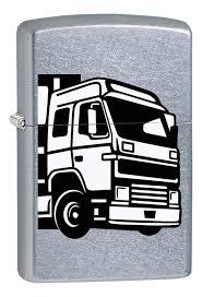 <b>Зажигалка</b> бензиновая <b>207 European</b> Truck (серебристая) от ...