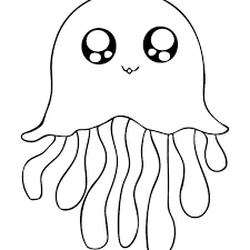 Small Picture Coloring Jellyfish Coloring Page Fresh On Plans Free Online