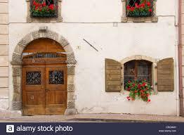 Türen Und Fenster Mit Schmiedeeisen Gitter Italien Suedtirol