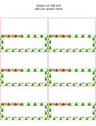 christmas placecard templates christmas place cards to print maths equinetherapies co