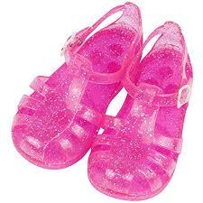 iFANS Child Anti-Slip Transparent Shiny Jelly Shoes ... - Amazon.com