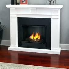 real flame fireplace gel cans white porter electric by model 4099