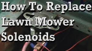how to replace lawn mower solenoids wiring diagram