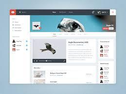 Youtube Channel View Re Design By Zeki On Dribbble