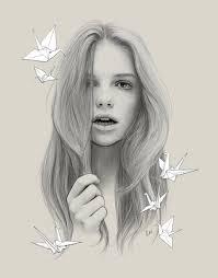 Resultado de imagen para dibujo a lapiz de una mujer
