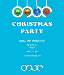 christmas party invitation aepicos fourth christmas invite 2012