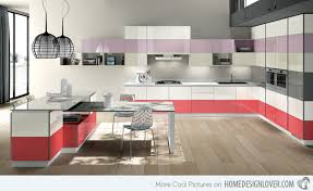 modular kitchen colors: two colors  dual personalities two colors
