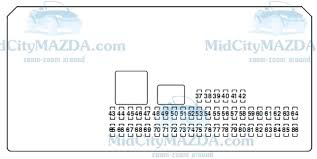 mazda 3 fuse box diagram 2005 mazda wiring diagrams online