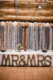 wedding reception wall decorations best 25 head table backdrop ideas on barn wedding 399 x