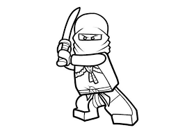 Lego Ninjago Coloring Page Images Coloring For Kids 2019