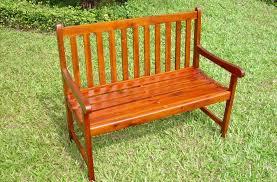 thames hardwood 2 seater bench