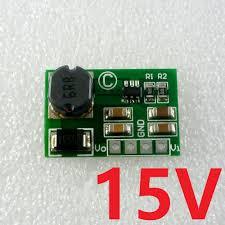 12w dc dc converter boost 3 7v 5v 9v 12v to 15v power supply ups