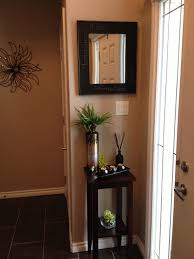 small table for hallway. Decorating Ideas For Upstairs Landing Beautiful Entryway Decor Small Space Like The Idea Of A Table Hallway