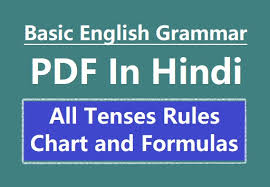 Hindi To English Translation Tense Chart 36 Surprising Tenses In Grammar With Chart