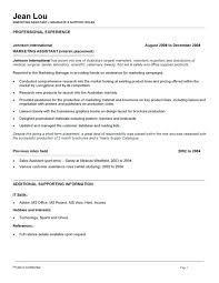 Marketing Coordinator Job Description Samples Assistant Resume ...