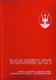 the maserati library text in italian and english maserati quattroporte and ghibli electrical manual