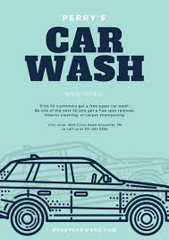 Car Wash Quotes Customize 100 Car Wash Poster templates online Canva 43