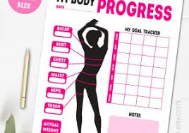 Weight Loss And Inches Tracker Free Printable Weight Loss Planner Weight Loss Chart Tracker Choice