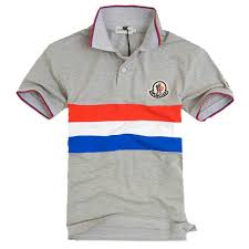 cheap Moncler Polo Shirt - Grey,moncler scarf,USA Cheap Sale