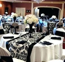 elegant black and white wedding black and silver centerpieces gold and silver wedding centerpieces