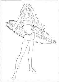 Barbie Coloring Pages Free Printable Free Printable Barbie Coloring