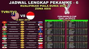 Seru china 1 0 indonesia kualifikasi piala asia 2015. Watch Jadwal Lengkap Pekan Ke 6 Kualifikasi Piala Dunia 2022 Zona Asia Fifa World Cup 2022 Qualifiers Fifa World Cup Countries Players News Videos Social Media Lifestyle
