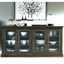 sideboard with glass doors sideboard with glass door sideboard with glass door glass front buffet sideboard