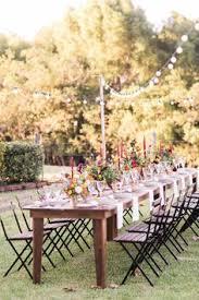 autumn inspired alfresco dinner