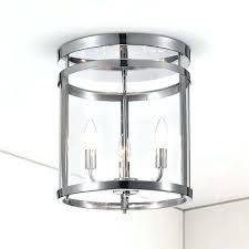 drum flush mount ceiling light 3 light chrome drum flush mount flush mount ceiling fan with