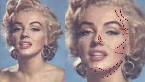 how to contour marilyn monroe