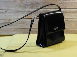vintage guess handbag black faux leather guess purse guess messenger hand bag designer handbag evening bag leather per bag