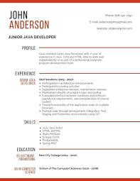 Resume Senior Java Application Developer Resume Sample