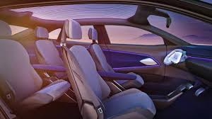 the i d crozz has as much interior space as the new 2017 volkswagen tiguan and a bicycle can easily fit crosswise through the sliding rear doors