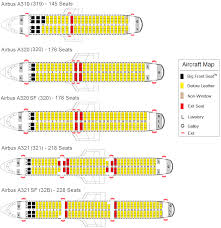 United Airbus Seating Chart 23 Veracious Airbus 319 Seating Chart Delta