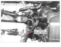 where is the ignition failure sensor located for 2004 santa fe 2 4