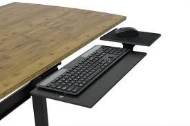 adjule ergonomic under desk keyboard tray